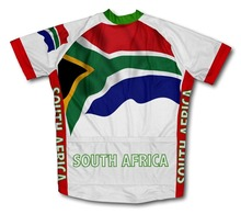 2016 South Africa Flag cycling jersey Bike Bicycle clothing sport men clothing ropa ciclismo mountain bike clothing