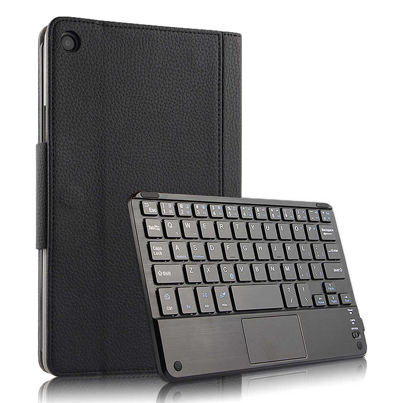 "Case For Xiaomi Mi Pad 4 Plus MiPad4plus 10.1""Protective Cover Wireless Bluetooth keyboard PU Leather MiPad4 Plus 10""Tablet case"