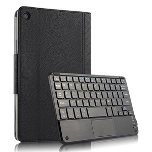 """Image 1 - Case For Xiaomi Mi Pad 4 Plus MiPad4plus 10.1""""Protective Cover Wireless Bluetooth keyboard PU Leather MiPad4 Plus 10""""Tablet case"""