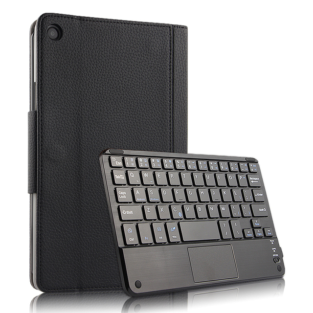 """Case For Xiaomi Mi Pad 4 Plus MiPad4plus 10.1""""Protective Cover Wireless Bluetooth keyboard PU Leather MiPad4 Plus 10""""Tablet case"""