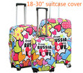 "20"" 24"" 28"" Travel Luggage Suitcase Protective Cover, Luggage Covers Dirt-proof Case Accessories streth apply to18-30 inch case"