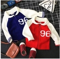 2016 Korean children fall fashion boy girl all-match knit cardigan sweater  digital free shipping
