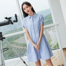 de3e86ce0441 NO.1 DARA Women Casual Denim Dresses Pockets Elegant Cowboy Korean Women  Feminino Lady Slim