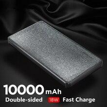 NANFU 10000 mAh 18 W PD cargador rápido banco de potencia cargador portátil batería externa QC3.0 cargador para móvil teléfono