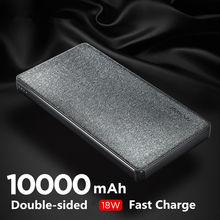 цена на NANFU 10000mAh 18W PD Fast Charger Power Bank Portable Charging Powerbank QC3.0 External Battery Pack Charger for Mobile Phone