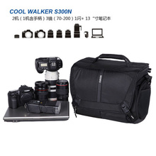цена на Benro CoolWalker Pro CW S200 one shoulder professional camera bag slr camera bag rain cover