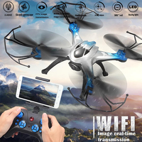JJRC H29W RC Quadcopter Helicopter Wifi FPV 4 Channel 6 Axis Gyro Aircraft Drone Model Toy with 2 MP Camera
