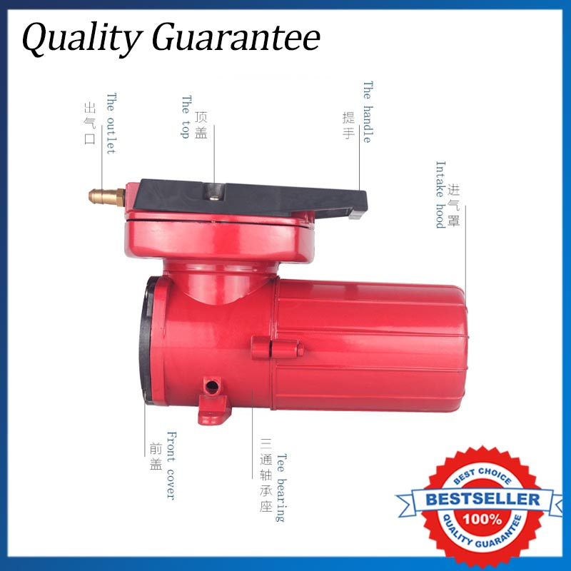 Electric 130W Oxygen Machine DC 12V/24V 140L/min Oxygen Pump Car