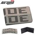 Ace скорость-Высокое качество JDM стиль кошелек для Невесты ткань кошелек невесты зажим для Денег есть для JDM Невеста чип с застежкой-молнией