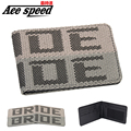 Ace speed-- High quality JDM style wallet for Bride cloth wallet Bride Money clip have a for JDM Bride chip with zipper