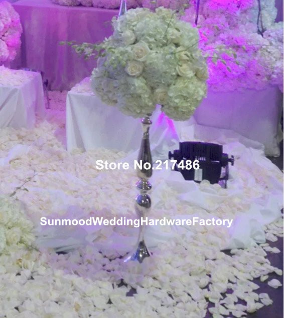 Whole Beautiful Tall Metal Flower Vase Paited Stand Wedding Centerpiece For Weddings Decoration In Glow Party Supplies From Home Garden On