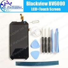 Blackview BV6000 Pantalla LCD + Pantalla Táctil 100% Original LCD Digitalizador Reemplazo de Cristal Del Panel ForBlackview BV6000 + herramientas + adhesivo