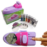 New Practical Superior Durable Diy Printing Nail Art Stamper Kit Printer Machine
