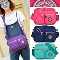 2016 Special Offer Waterproof Nylon Shoulder Bag Girls Kip Style Monkey Crossbody Bags for Women Small Messenger Bolsa Macaco