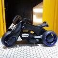 Crianças Triciclo Elétrico Da Motocicleta dual-drive 1-7 Cobrando Carro de Brinquedo pode montar em