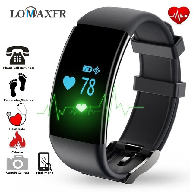 Smart Bracelet Fitness Watch Smart Oled Touch Screen Man Women Sport Wristband Heart Rate Monitor Smart Bracelet For Android IOS