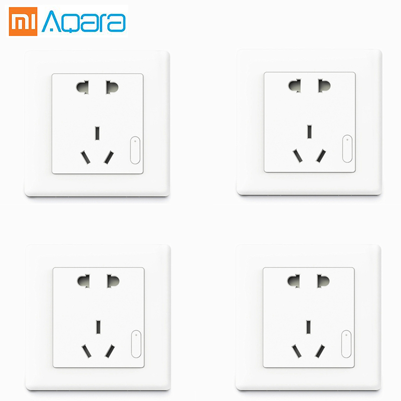 Aqara Socket Wall Outlet smart home ZigBee wireless Wifi Remote Control xiaomi Socket Work for with