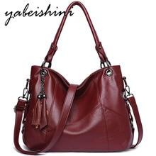 حقيبة يد فاخرة شرابة النساء حقائب مصمم كيس الرئيسي عادية حمل حقائب الإناث حقيبة يد جلدية خمر حقيبة كتف للنساء