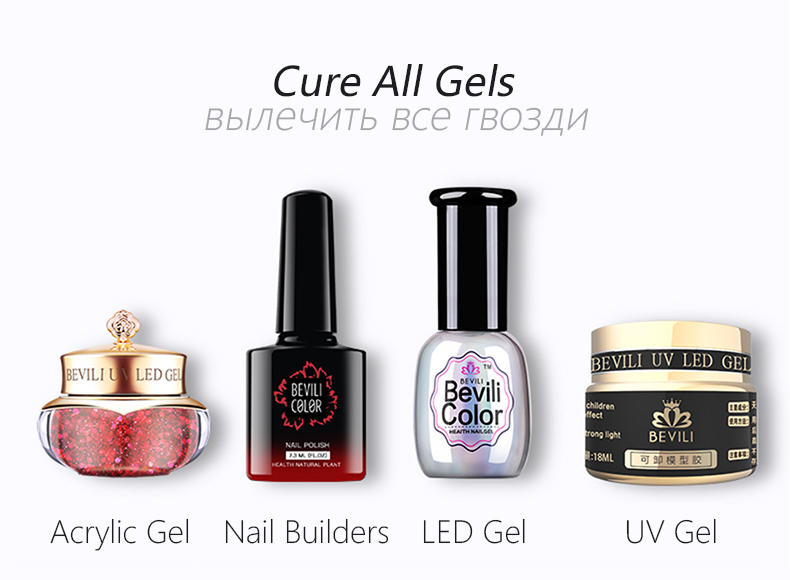 cure all nail gels