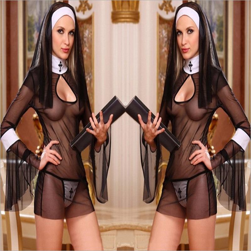 Монах эротика костюм кожа