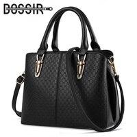 New Arrival Fashion Women PU Leather Handbags High Quality Top Handle Bags Tote Crossbody Bag Messenger