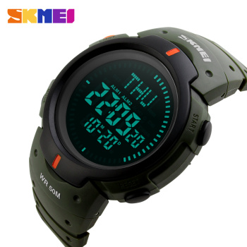 Mens Sports Compass Watch,  Waterproof Digital Outdoor