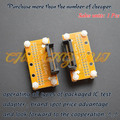 DIY IC ТЕСТ SSOP8-SSOP66 тест гнездо SSOP ic разъем Шаг = 0.65 мм Ширина можно отрегулировать свободно, без ограничений