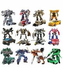 Transformasi Mainan Deformasi Robot Mobil Brinquedos Klasik Aksi Figur Mainan Anak Hadiah