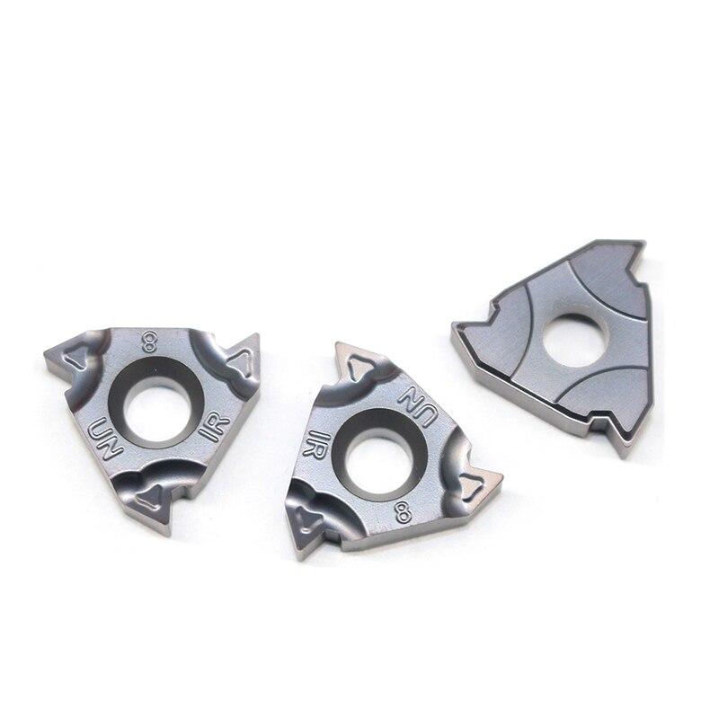 Купить с кэшбэком 11IR 16IR 12UN 24UN 20UN 18 UN 16UN 14UN 12UN 10UN 8UN 60 angle Thread turning tool Tungsten Carbide Insert Threading Lathe Tool