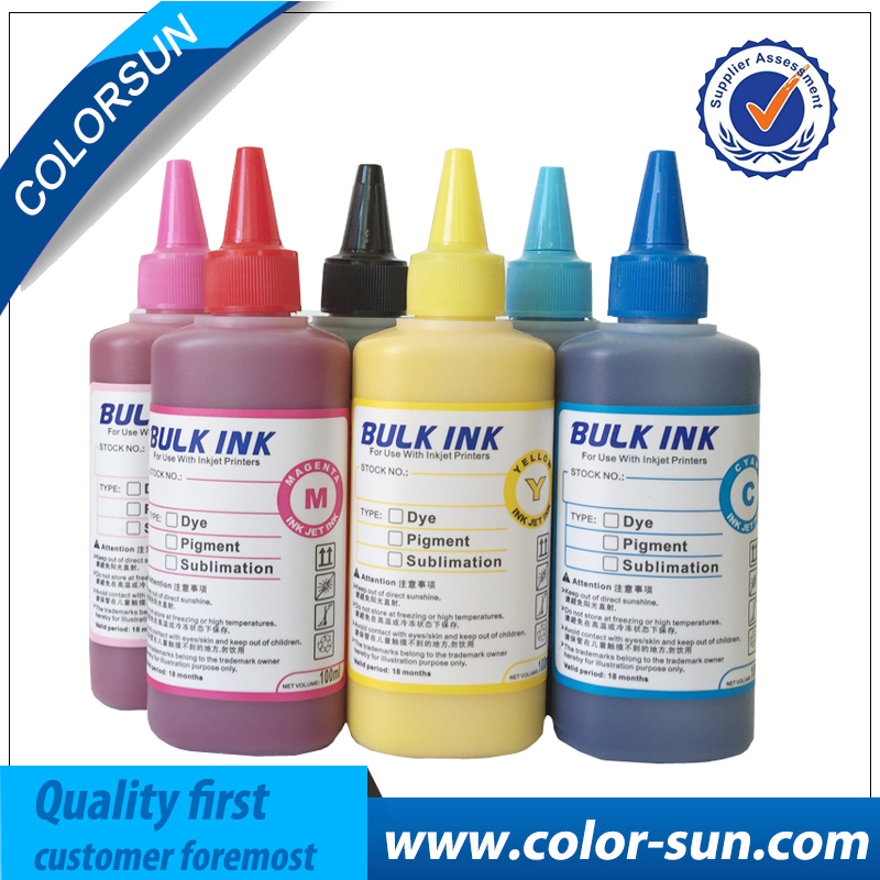 Hot Sell 6 Colors(CMYKLCLM) Sublimation Ink for Epson Printer Use for T-shirt/ Phone case/ Ceramics Pottery/ Mouse pad/ Cup fellowes neutron plus a4