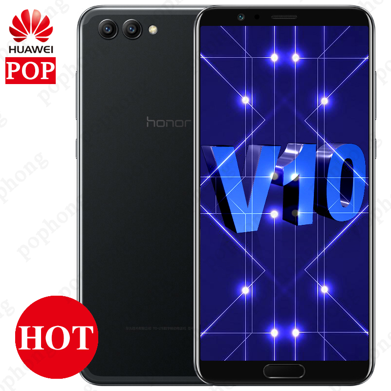 Huawei Honor View 10 Mobile Phone Android 8.0 Huawei Honor V10 Smartphone Kirin 970 Octa Core OTA NFC Fingerprint 5.99'' 1080P