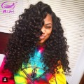 Burmese Virgin Hair With Frontal Burmese Virgin Hair Curly 3Bundles With Closure Human Hair Bundle With Frontal Closure