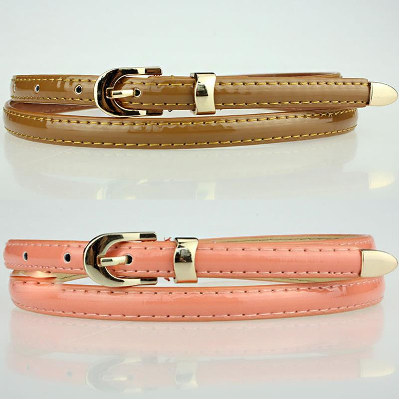 5pcs lot Elegant Alloy Pin Buckle WaistBands Adjustable Leather Belts Ladies Outdoor Make Up Accessories os803 in Women 39 s Belts from Apparel Accessories