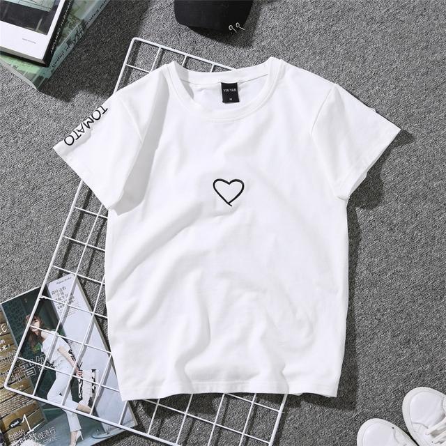LOVE HEARTS T-SHIRT (3 VARIAN)