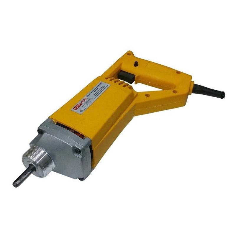 цены Vibrator for concrete portable REDVERG RD-VE800 (shaft Length 2 m length mace 35mm, 4000 rpm)