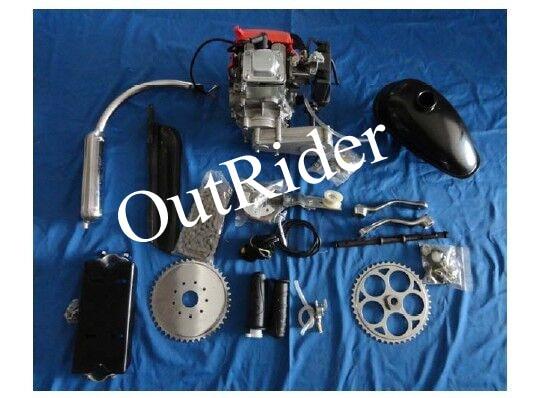 2017 Всадника Горячей Продажу! Орк-POWERG хорошую Производительность Новый 4-х тактный 49куб. см/53cc Электрический велосипед двигателя комплект
