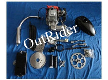 2017 Outrider Hot Sale! ORK-POWERG Good Performance New 4-Stroke 49cc/53cc Electric Bicycle Engine Kit