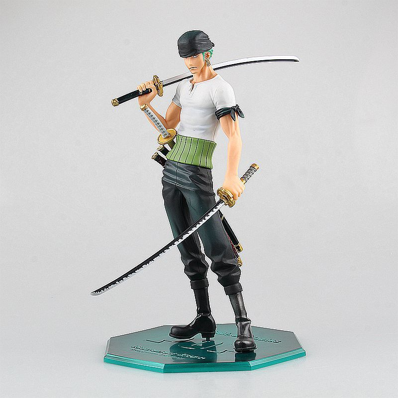 handsome zoro arrogance expression anime one piece model pvc action figure classic collection Garage Kit toy doll brand new portrait of pirates one piece roronoa zoro 23cm pvc cool cartoon action figure model toy for gift kids free shipping