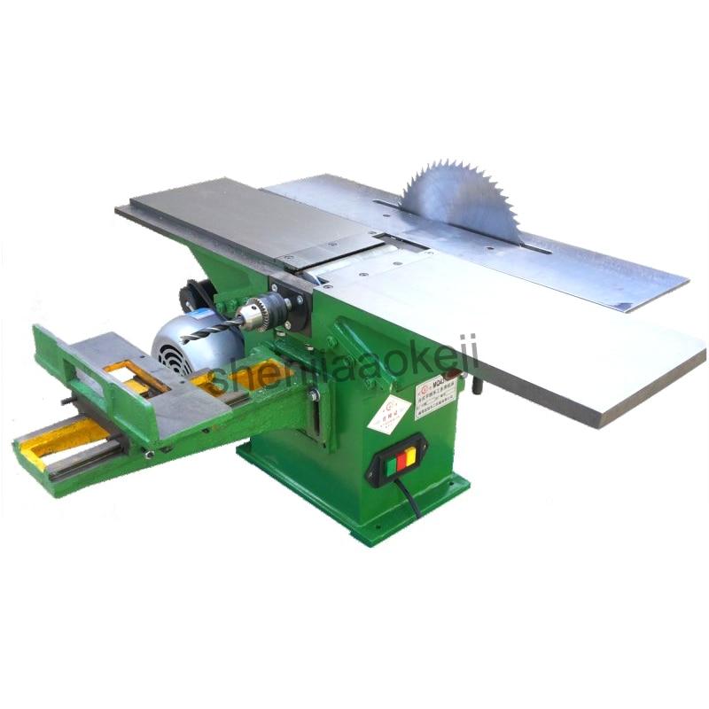 MQ431B-11 multifonctionnel machines à bois rabot 220 V perceuse électrique banc perceuse table machine à bois