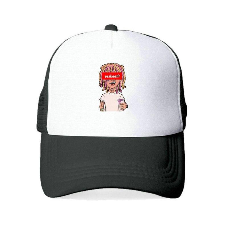 8adeda3222943 Esskeetit Dad Hat Lil Pump Baseball Cap Men Esketit Mumble Trap Snapback  Hat Cap Rap Singer