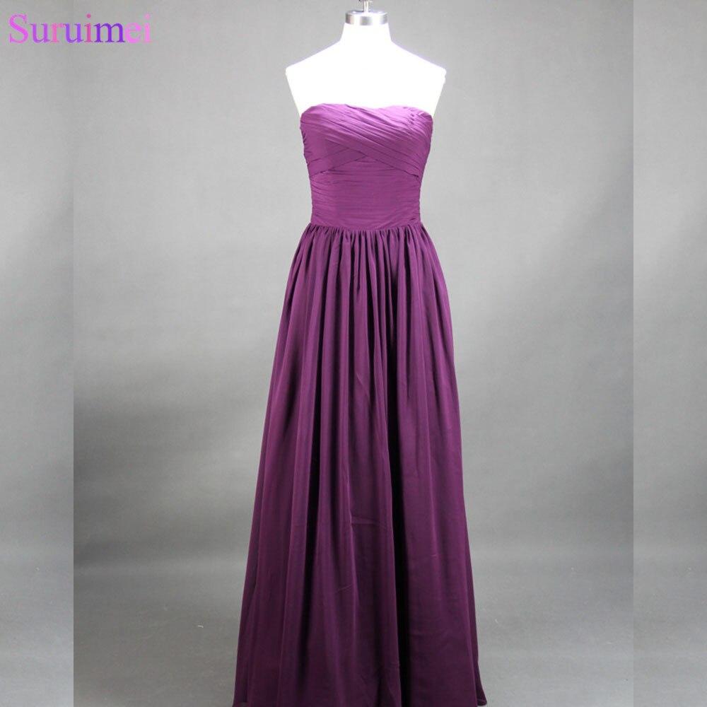 Contemporáneo Vestidos De Dama Largas Baratas Ornamento - Vestido de ...