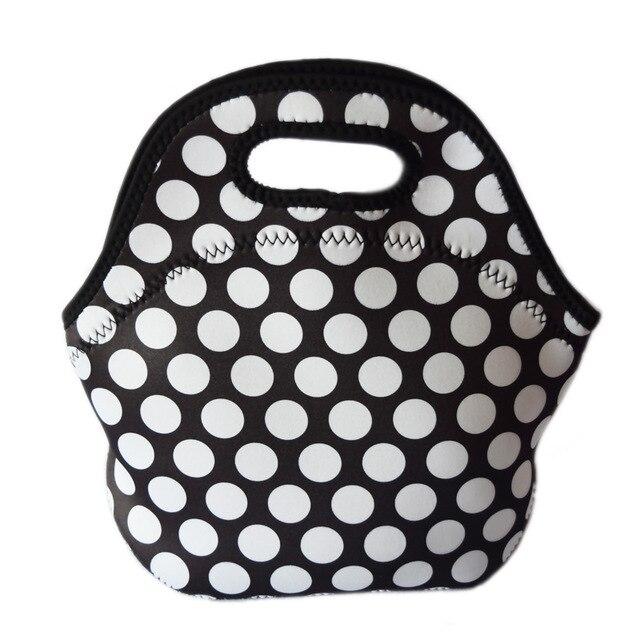 3mm thickness neoprene lunch bag lancheira bolsas lunco bolsa del almuerzo Borsa per il pranzo tote bag with zipper leisure bags