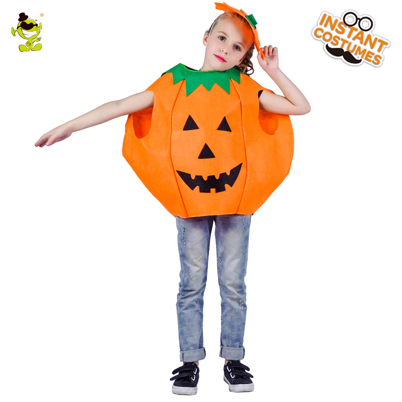 New Children's Cute Pumpkin Cosplay Costume Imitation Halloween Party Fancy Dress Carnival&Christmas Party Costume