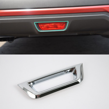 2017 car parts ABS chrome brake light cover 1pcs Car Styling For Nissan 17 KICKS