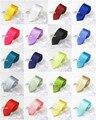 20 Colores Moda de Nueva Marca Delgada Corbata Estrecha Lazos Corbata para Los Hombres Pajaritas Gravata Flaco Sólido Satén Rojo Azul 5 CM