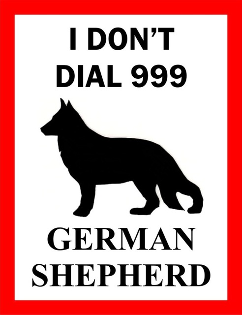 Kraft Poster – German Shepherd Themed