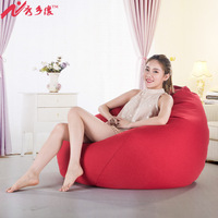 Beanbag chair Lazy sofa Living room Leisure Tatami Totoro bag Single Fabric Bean bag sofa Multifunction Portable Comfort Sofas