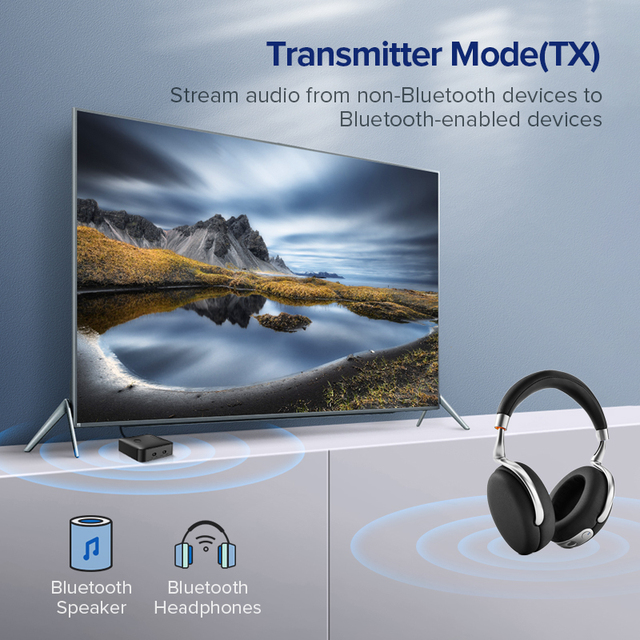 5.0 4.2 Wireless Transmitter for Car and TV