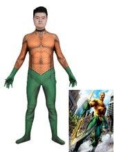 3D Print Aquaman Costume Aquaman Skin Lycra Spandex Cosplay Zentai Suit майка print bar aquaman
