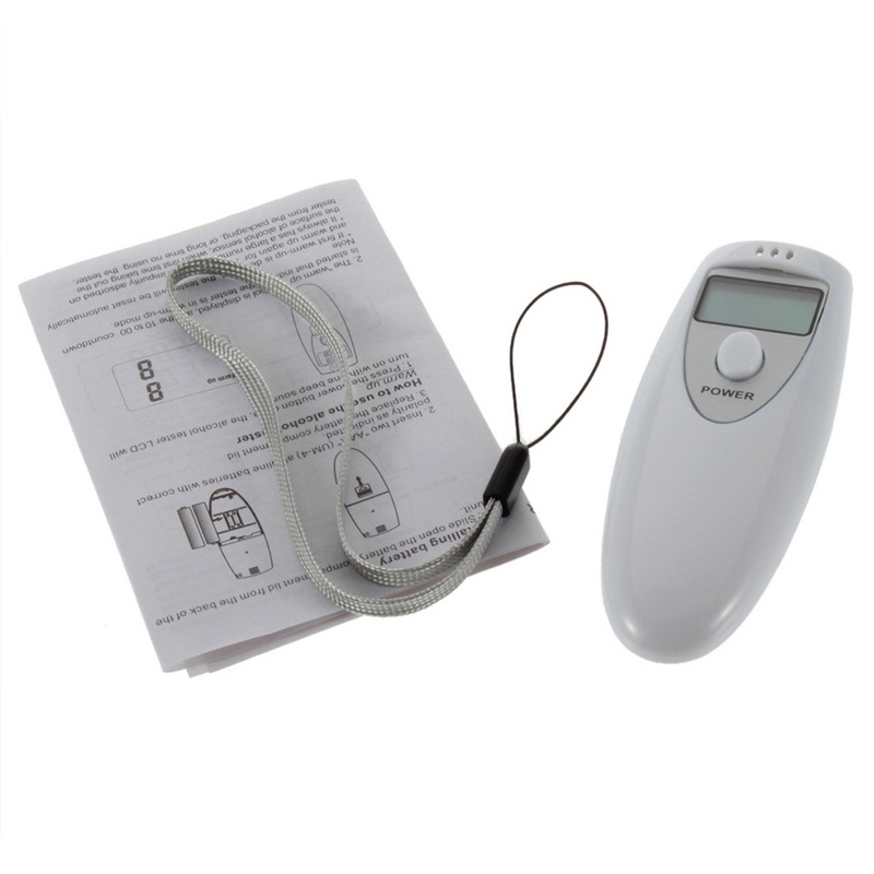 Image 5 - Portable Professional Alcohol Tester Closed Automatically Digital Breath Alcohol Detector Screen Show Alcohol Concentration-in Alcohol Tester from Automobiles & Motorcycles